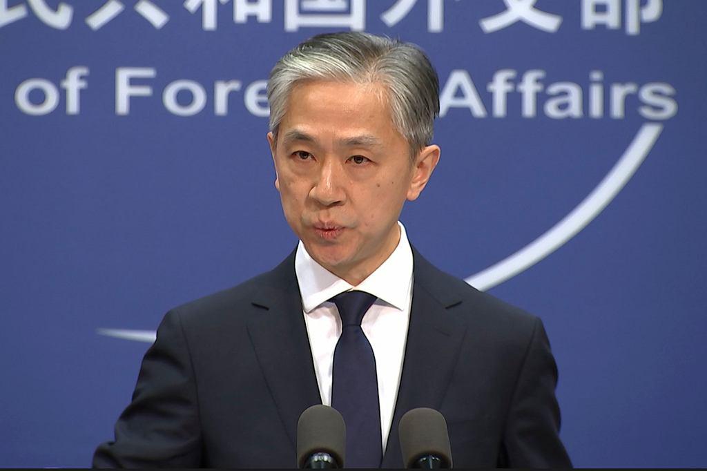 Rzecznik chińskiego MSZ Wang Wenbin