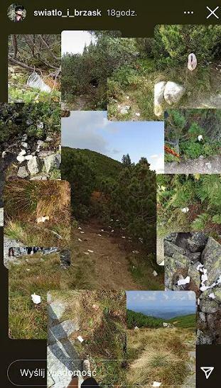 Śmieci w Tatrach
