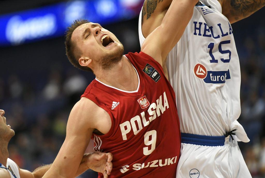 Mateusz Ponitka. Polska - Grecja, EuroBasket 2017.