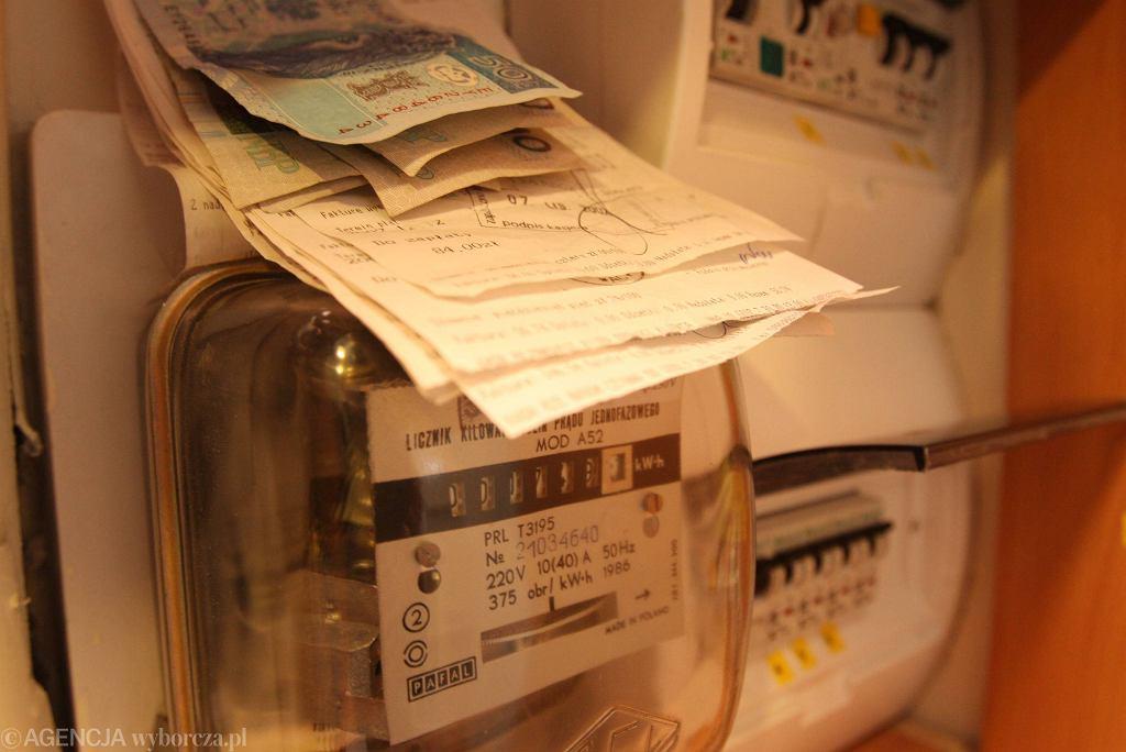 Inflacja w górę, ceny prądu wyraźnie rosną.