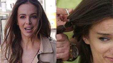 """""""Top Model"""". Oldze obcięto włosy. Wendzikowskiej też się nie podoba. Taktu? Zero! Fani: Żenujący tekst"""
