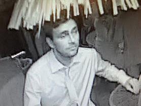 Człowiek podejrzany o kradzież medali