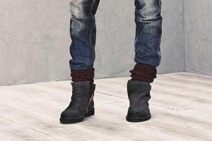 Sztyblety: eleganckie męskie buty na zimę