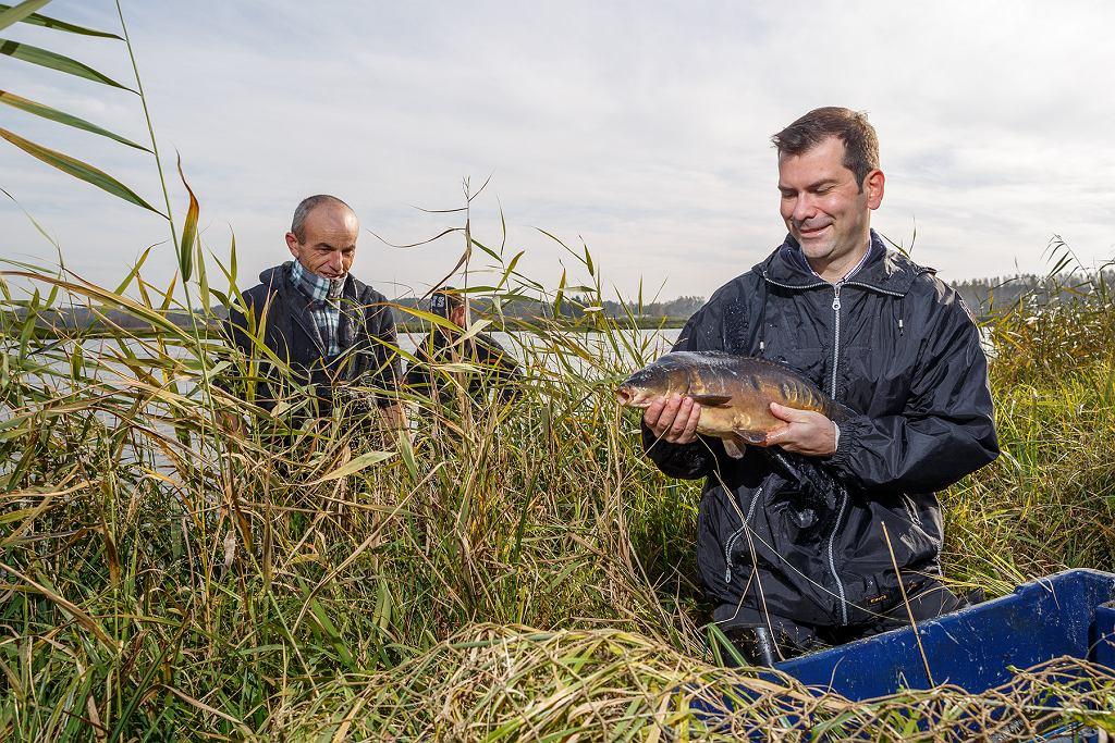 gospodarstwo rybackie EKO FARM w Grzegorzewicach