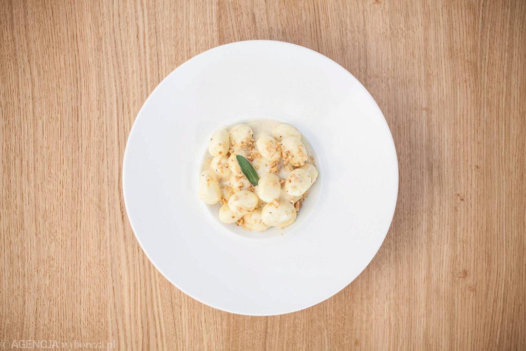 / Gnocchi Quattro z restauracji Blueberry's /Fot. Dawid Żuchowicz