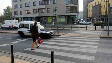Przejście dla pieszych w Warszawie