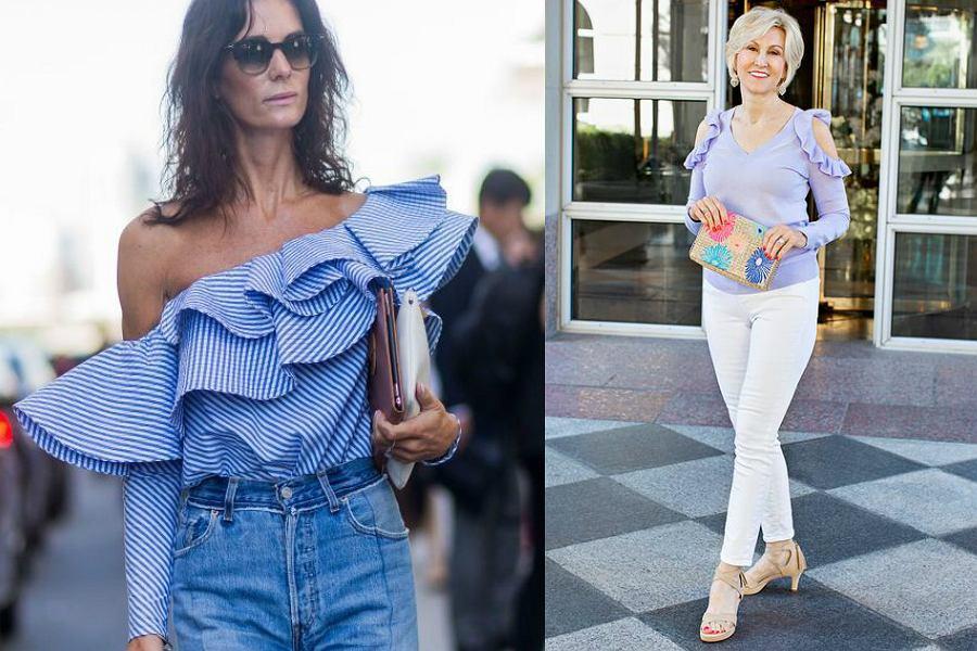 e424c564 Bluzki z odkrytymi ramionami: dojrzałe kobiety też mogą je nosić