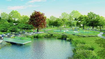 Tak będzie wyglądał nowy park w Czechowicach-Dziedzicach