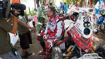 Rafał Sonik na I etapie Rajdu Dakar 2015
