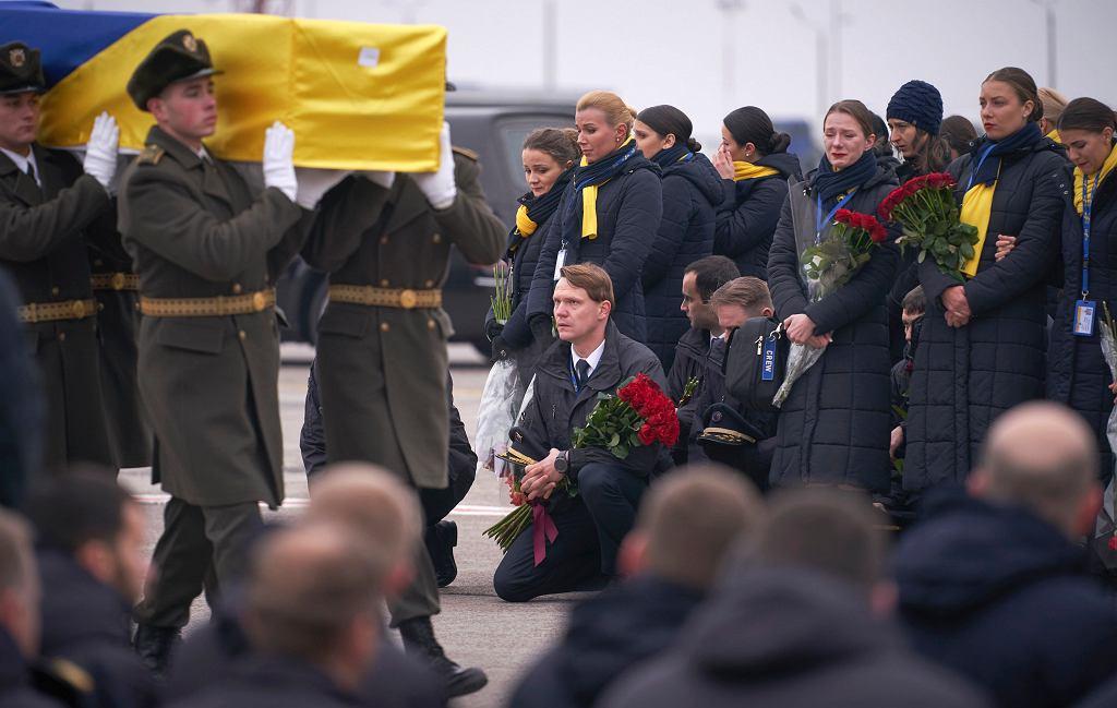Zestrzelenie samolotu w Iranie. Uroczystości żałobne ofiar tragedii z Ukrainy