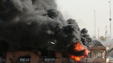 Pożar w Bagdadzie