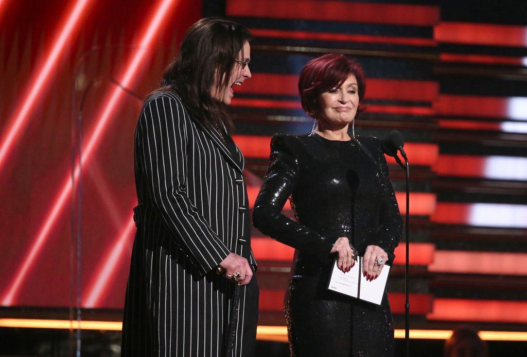 62. gala Nagród Grammy: Ozzy Osbourne i Sharon Osbourne