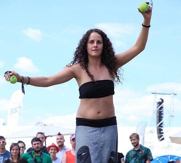 Na Przystanku Woodstock pojawili się fani nie tylko muzyki, ale również kuglarstwa i sportów ekstremalnych