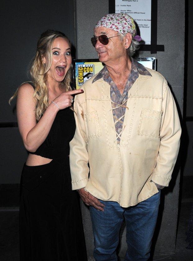 Jennifer Lawrence i Bill Murray