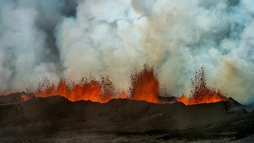Erupcja w Holuhraun/ Fot. CC BY 2.0/ Sparkle Motion/ Flickr.com
