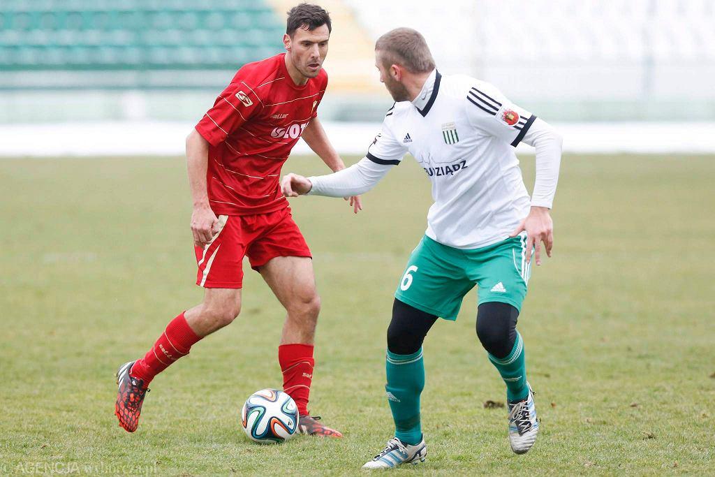 Lechia - Olimpia Grudziądz 0:0. Grzegorz Wojtkowiak