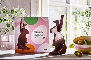 """IKEA sprzedaje niezwykłe czekoladowe zające. Niezwykłe, bo w wersji """"zrób to sam"""""""