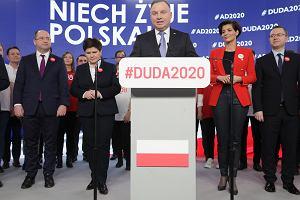 """Prezydent pierwszy raz komentuje wulgarny """"gest Lichockiej"""""""