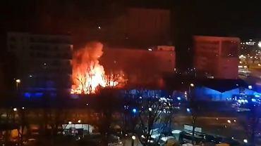 Pożar na Bielanach