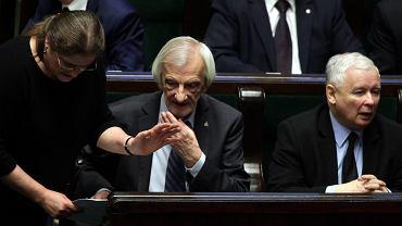 Krystyna Pawłowicz, Ryszard Terlecki i Jarosław Kaczyński