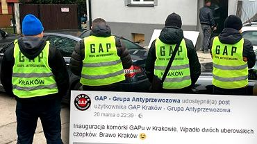 GAP ściga kierowców Ubera