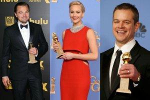 Leonardo DiCaprio, Jennifer Lawrence, Matt Damon