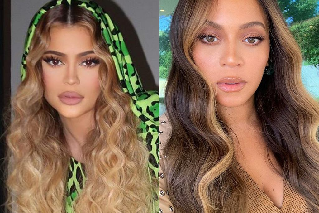 Kylie Jenner i Beyonce