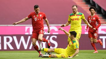 Bayern gromi, a Lewandowski goni Gerda Muellera! Dwa gole Polaka!