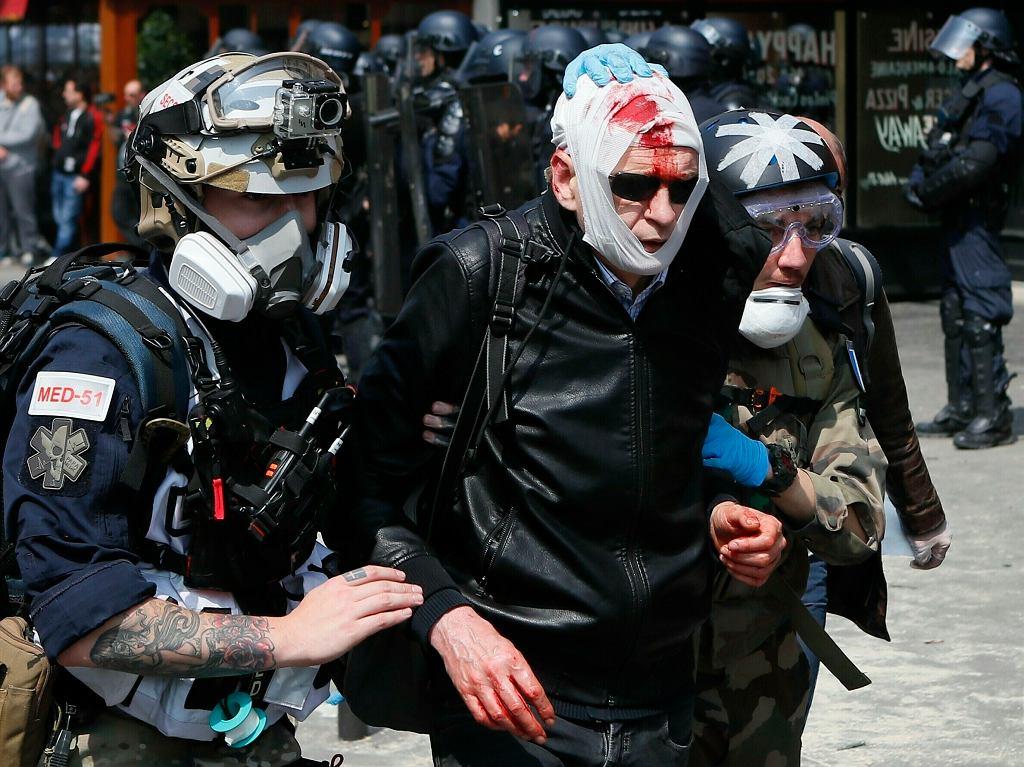 APTOPIX France May Day