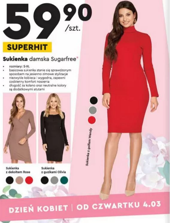 Kolekcja popularnej polskiej marki w Biedronce. Modne sukienki w atrakcyjnych cenach