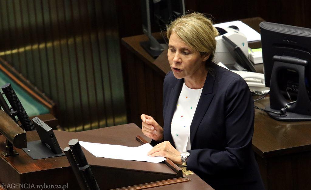 Wicemarszałkini Sejmu Barbara Dolniak z Nowoczesnej