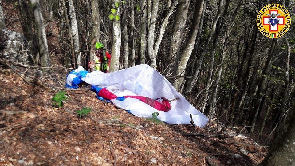 Włochy. 71-letni Polak zginął na paralotni na wzgórzu Monte Grappa