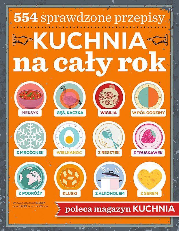 Okładka 'Kuchnia na cały rok'
