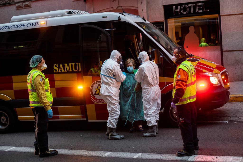Hiszpania. Ponad 700 ofiar koronawirusa w ciągu ostatniej doby (zdjęcie ilustracyjne)