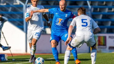Lech Poznań - Dynamo Kijów 0:2 w sparingu w Hiszpanii. Łukasz Trałka