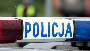 Pojazd policyjny.  Wykres ze zdjęciami