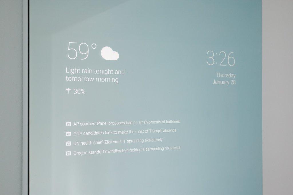 Lustro z Androidem