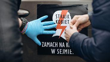 'Czarny protest' w Gdańsku
