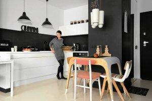 Czarno-białe mieszkania bez nudy - przegląd waszych wnętrz