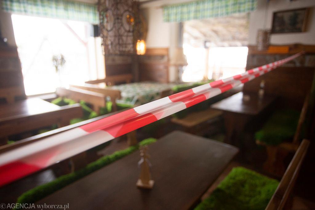 Zamknięta restauracja / zdjęcie ilustracyjne