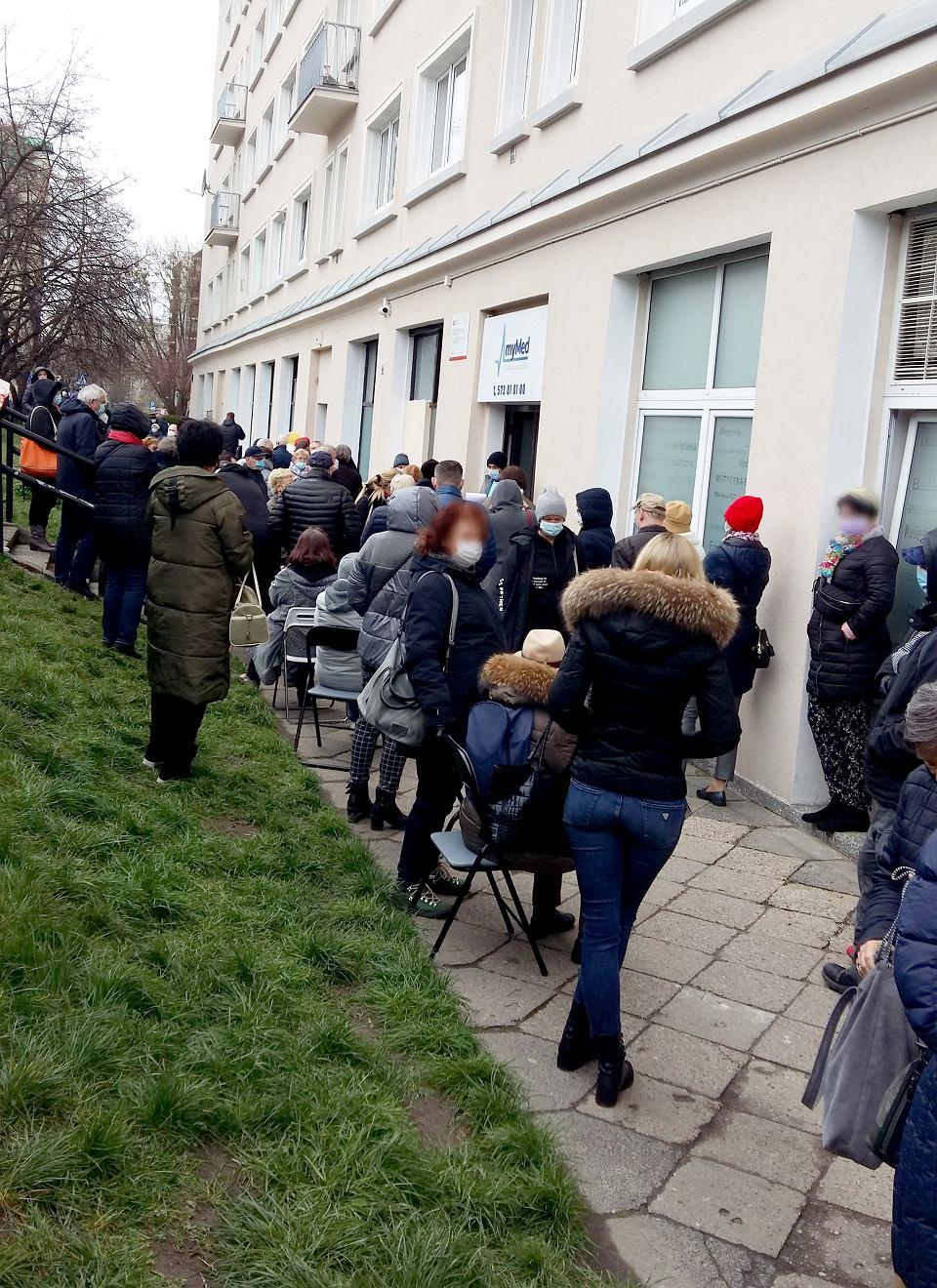 Szczepienia na Covid w klinice MyMED na ul. Wolność 2 w Warszawie