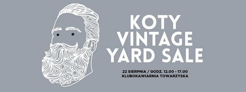 Koty Vintage Yard SALE?