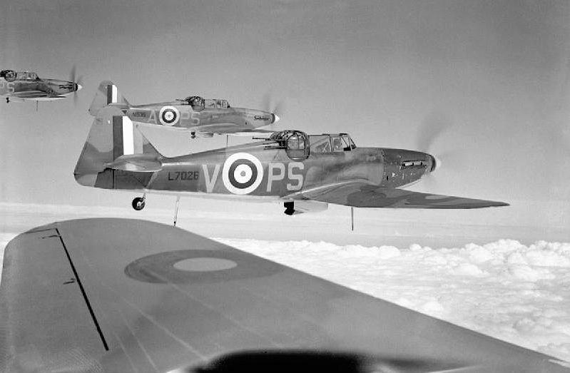 263. eskadra RAF w trakcie bitwy o Anglię