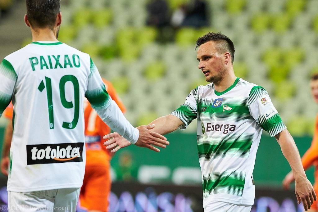Lechia Gdańsk - Bruk-Bet Termalica 2:0. Sławomir Peszko