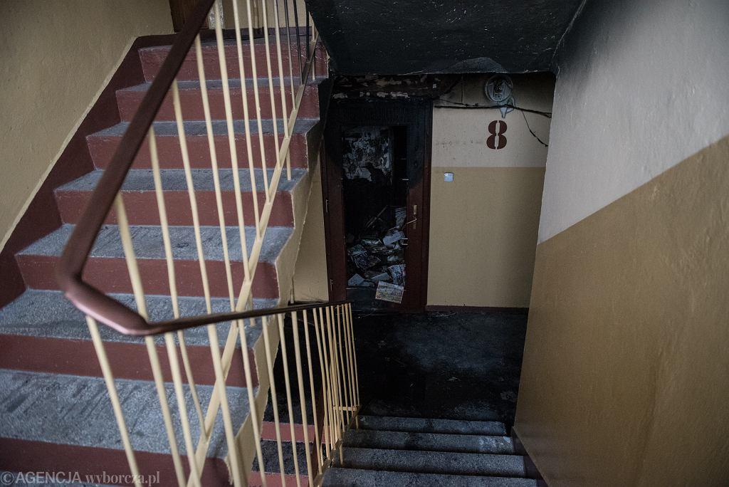 Pożar w bloku (zdjęcie ilustracyjne)