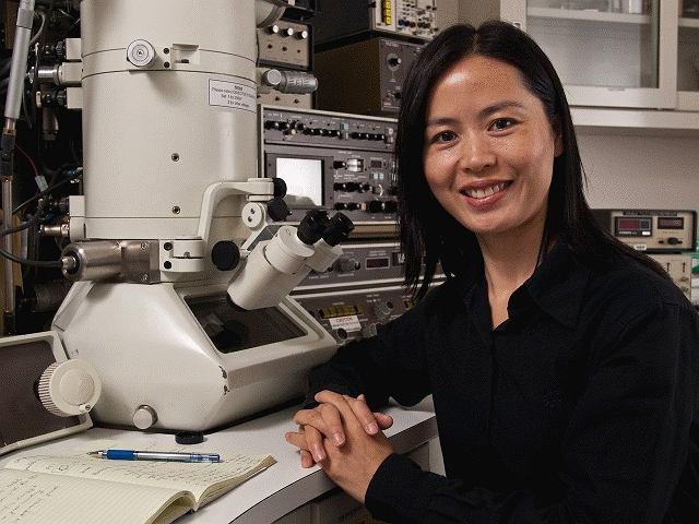 Dr Haimei Zheng / fot. Roy Kaltschmidt
