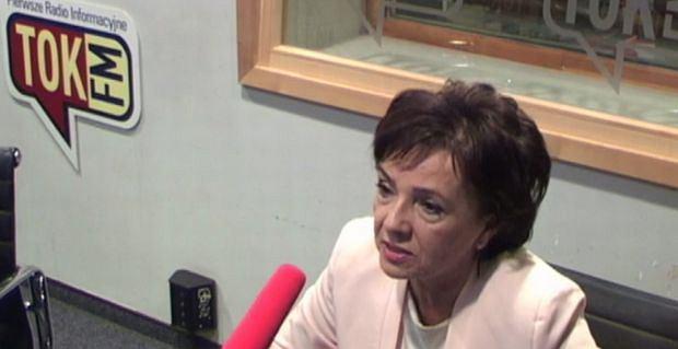 Rzeczniczka PiS Elżbieta Witek w