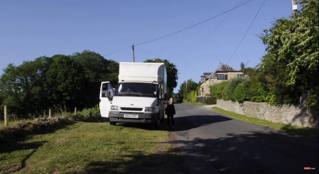 Ciężarówka z mieszkaniem