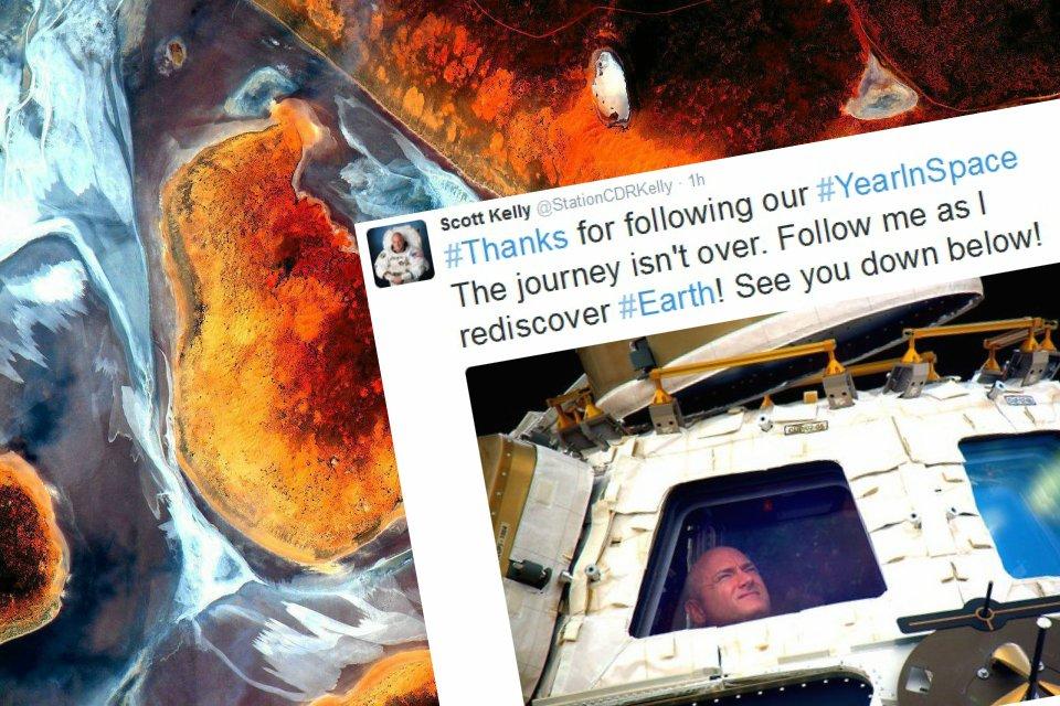 Scott Kelly robił przepiękne zdjęcia z kosmosu