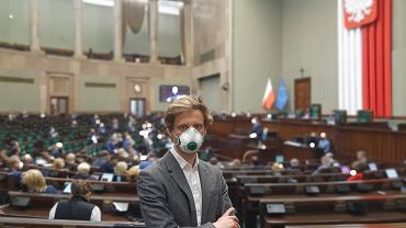 Poseł Franciszek Sterczewski w Sejmie
